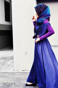 Rocking the head scarf with COLOR and STYLE