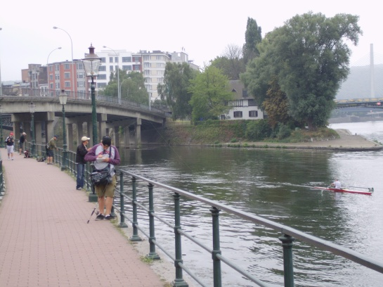 Anglers competing~ Do they ever catch anything?