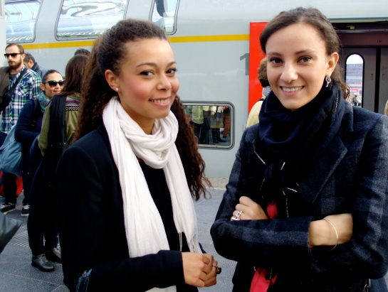 French students studying in Liege