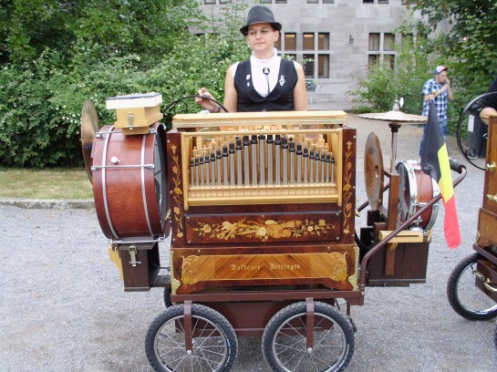 Organ grinders from the old country.