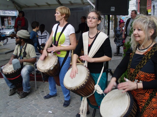 A street festival!