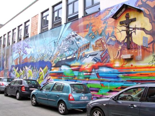 Street Art ~ just around the corner
