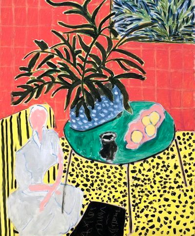 Interieur, by Matisse