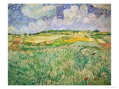 The Plain at Auvers, Vincent Van Gogh, c1890