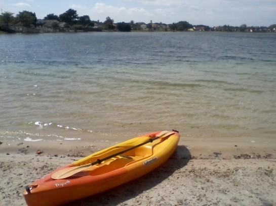 Laura's lake.